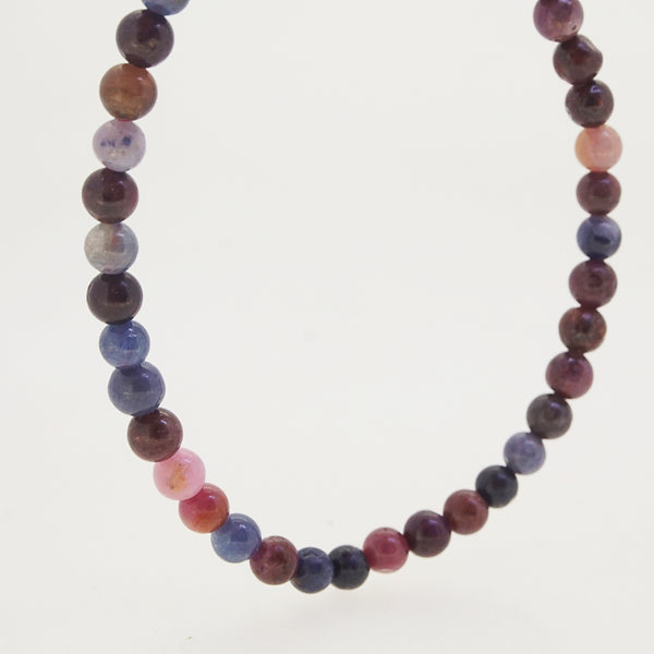 Multicolored Sapphire 4mm - Gaea | Crystal Jewelry & Gemstones (Manila, Philippines)