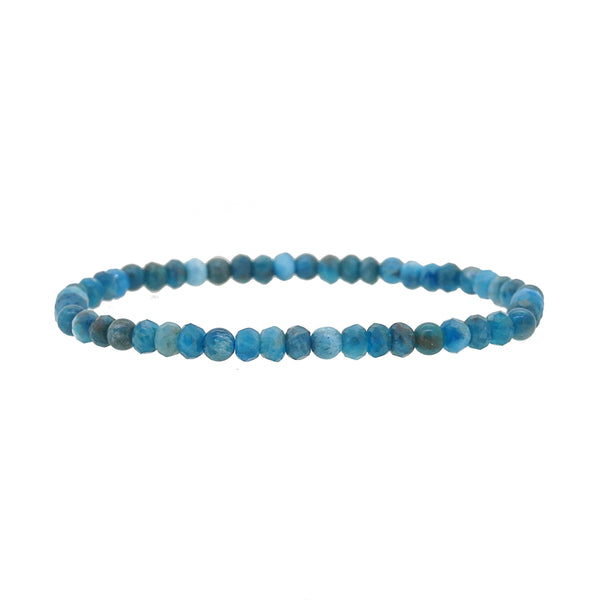 Madagascar Apatite Faceted Rondelle 5mm - Gaea | Crystal Jewelry & Gemstones (Manila, Philippines)