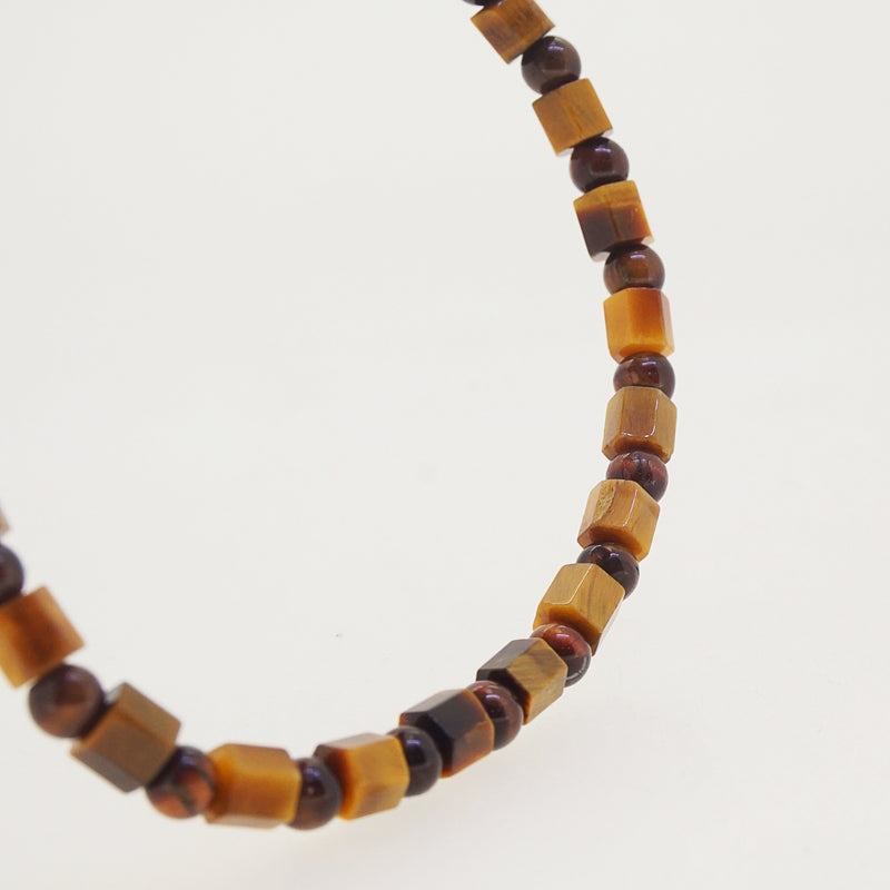Tiger Eye Cubes and Red Tiger Eye 4mm - Gaea | Crystal Jewelry & Gemstones (Manila, Philippines)