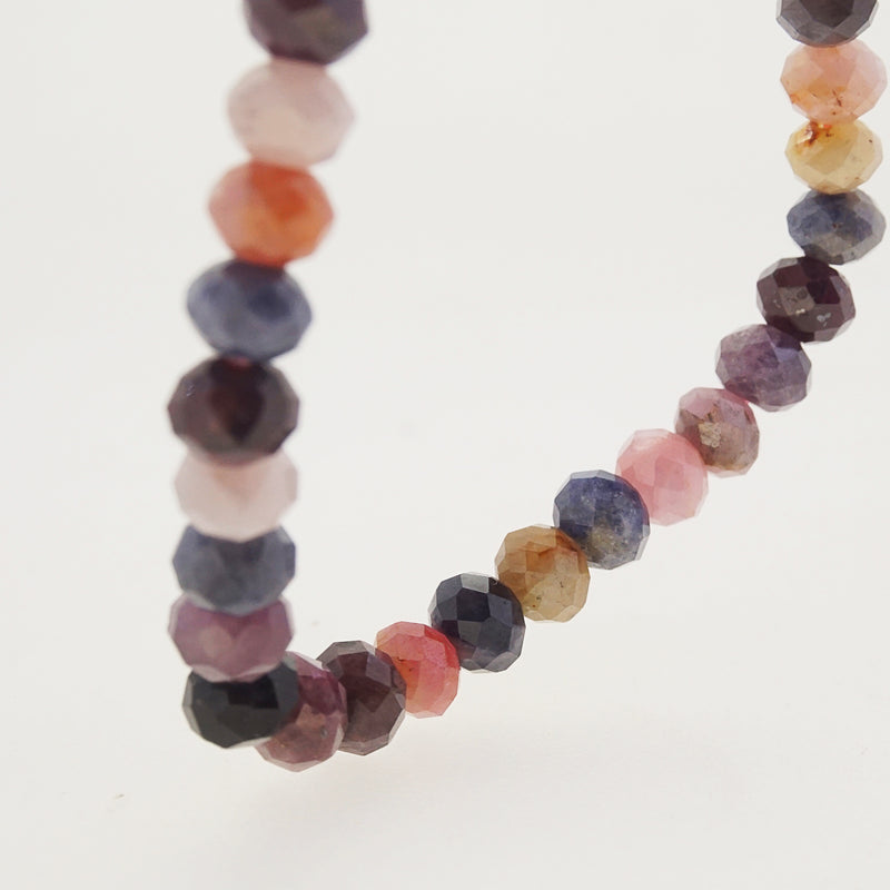 Multicolored Sapphire Faceted Rondelle - Gaea | Crystal Jewelry & Gemstones (Manila, Philippines)