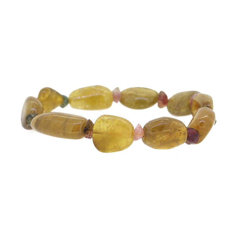 Yellow Tourmaline Tumble - Gaea | Crystal Jewelry & Gemstones (Manila, Philippines)