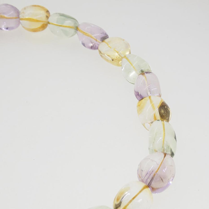 Citrine, Prasiolite, and Amethyst Tumble (M) - Gaea | Crystal Jewelry & Gemstones (Manila, Philippines)