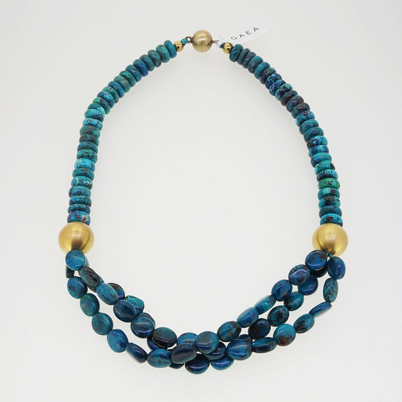 Multi-Strand Chrysocolla - Gaea | Crystal Jewelry & Gemstones (Manila, Philippines)