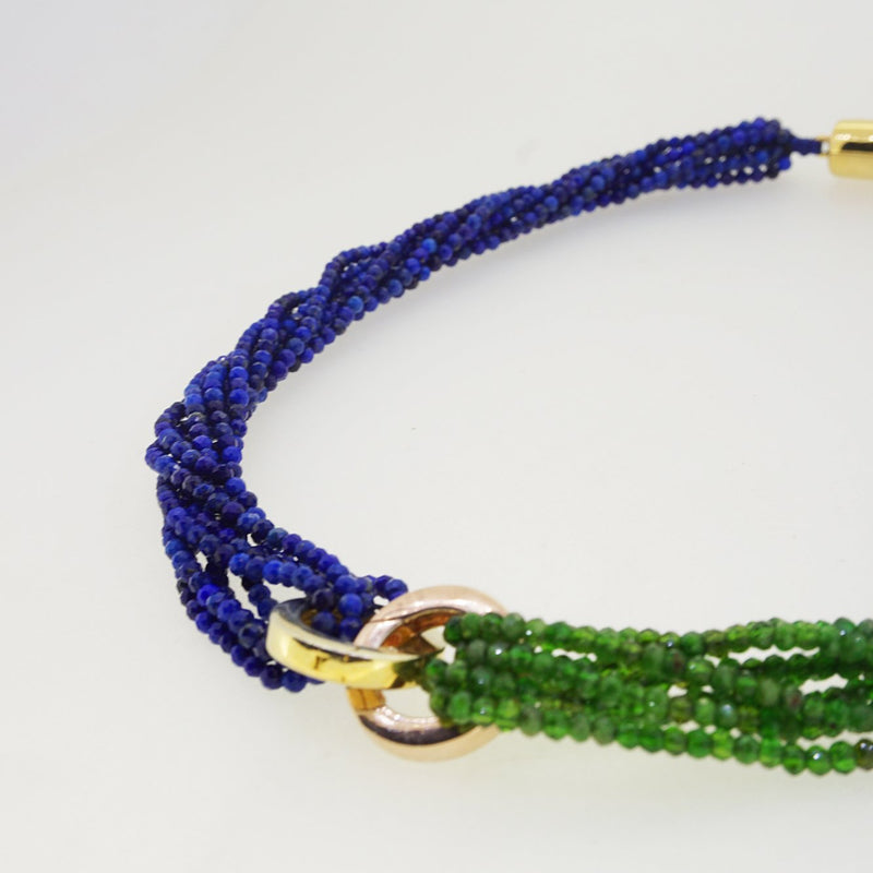 A-Grade Chrome Diopside and Lapis Lazuli - Gaea | Crystal Jewelry & Gemstones (Manila, Philippines)