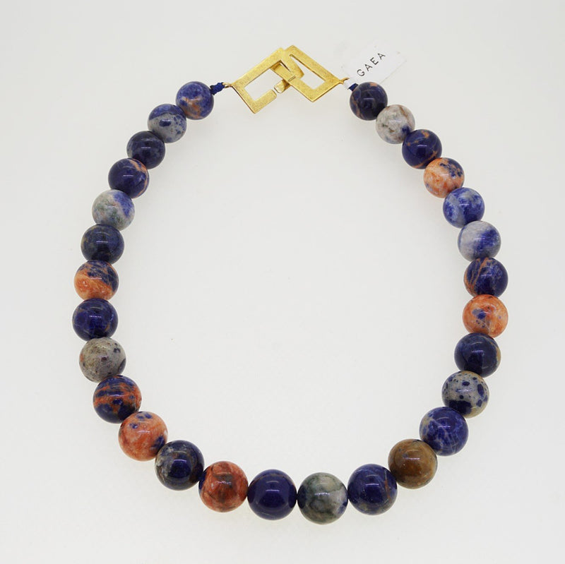 Orange Sodalite 14mm - Gaea | Crystal Jewelry & Gemstones (Manila, Philippines)