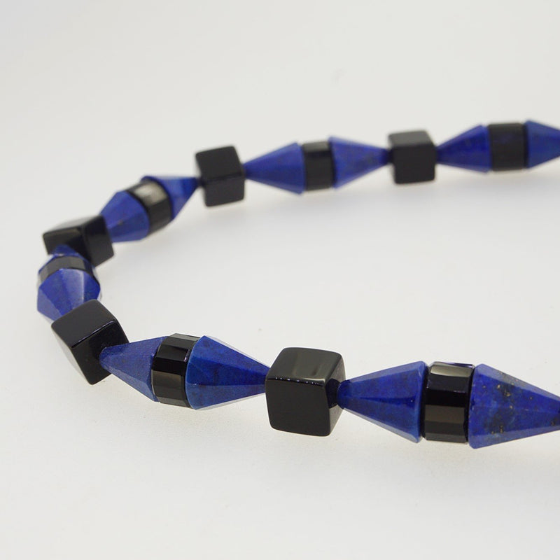 Lapis Lazuli and Onyx Geometric Shapes - Gaea | Crystal Jewelry & Gemstones (Manila, Philippines)