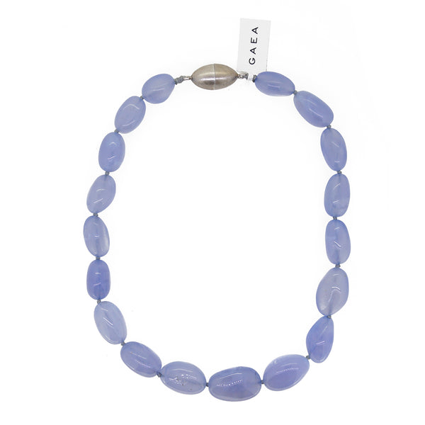 A-Grade Blue Chalcedony Tumble - Gaea | Crystal Jewelry & Gemstones (Manila, Philippines)