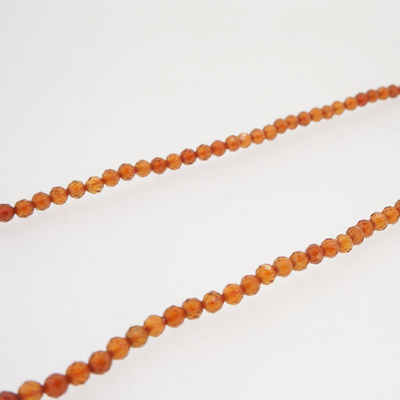 A-Grade Hessonite Garnet Faceted 3mm - Gaea | Crystal Jewelry & Gemstones (Manila, Philippines)