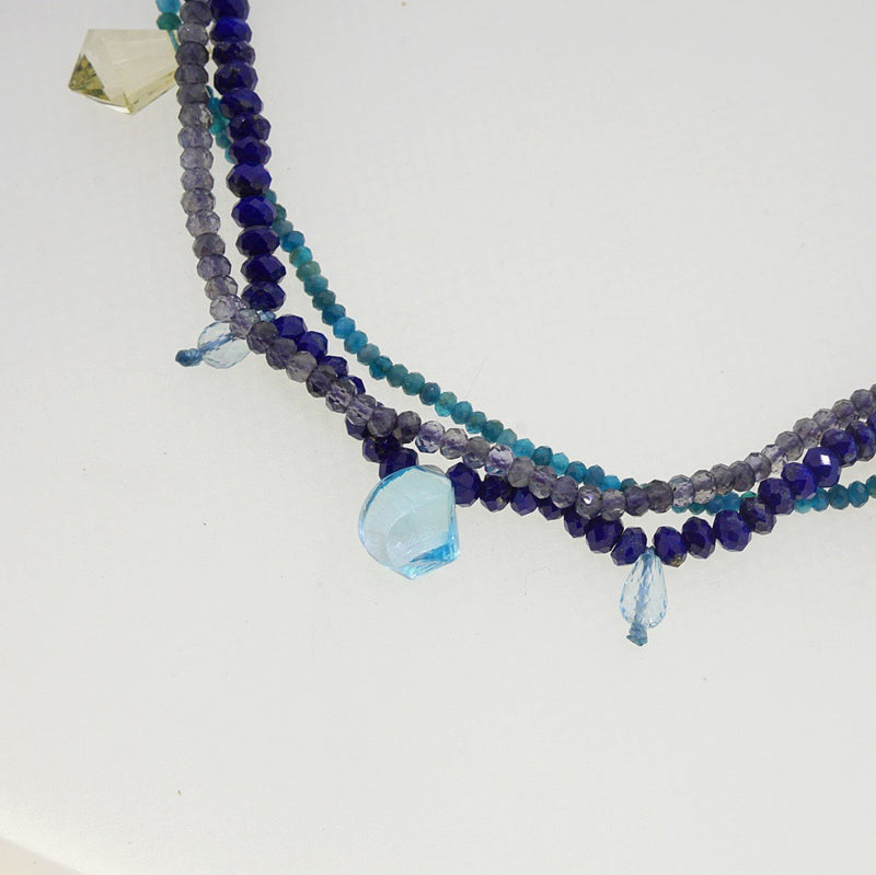 Lapis Lazuli, Iolite, and Apatite - Gaea | Crystal Jewelry & Gemstones (Manila, Philippines)
