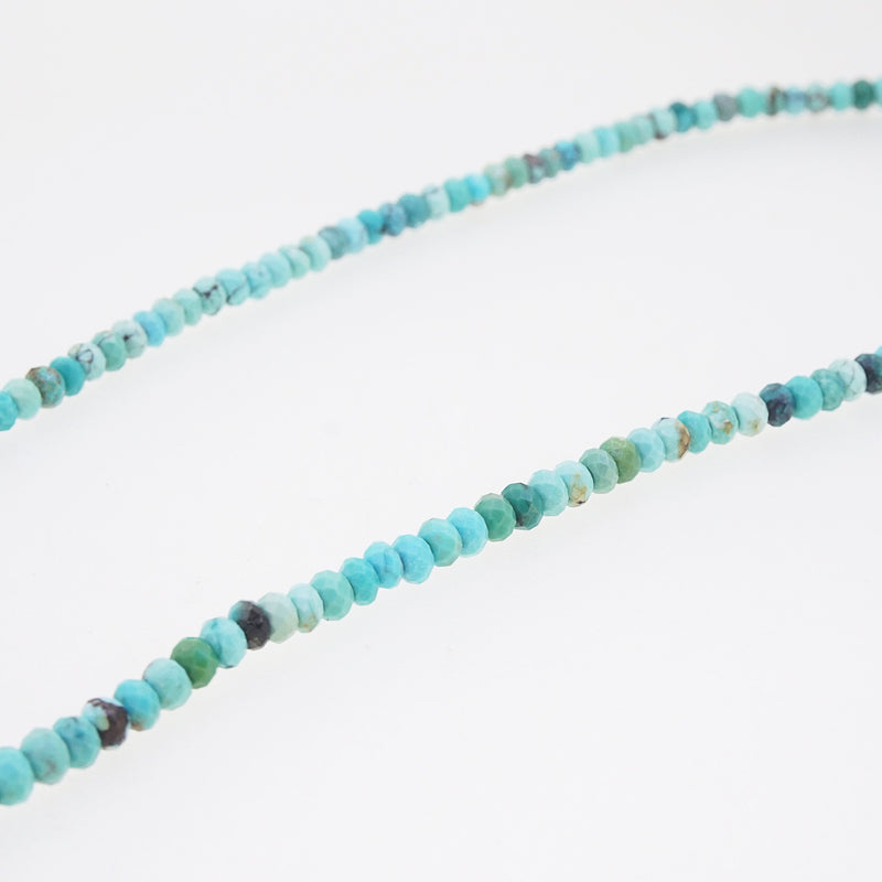 Turquoise Faceted Rondelle 4mm - Gaea | Crystal Jewelry & Gemstones (Manila, Philippines)