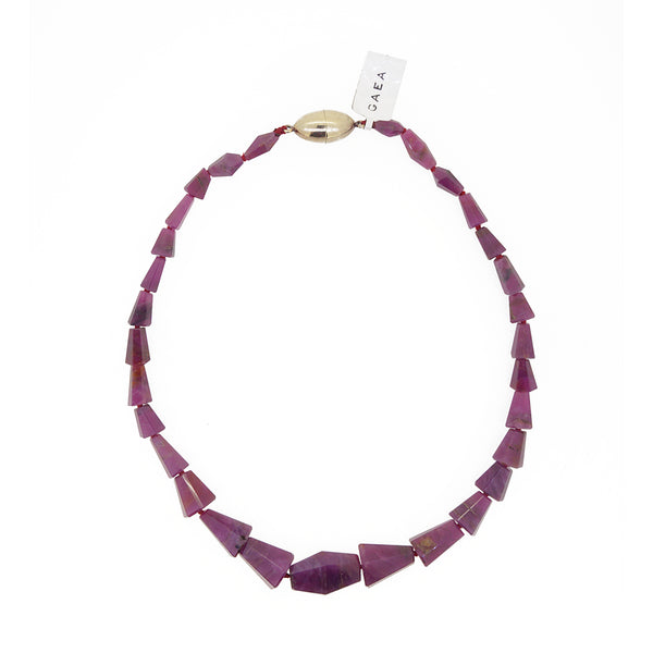Natural Ruby Faceted Geometric Cut - Gaea | Crystal Jewelry & Gemstones (Manila, Philippines)