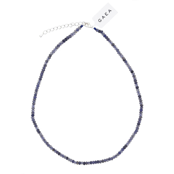 Iolite Faceted Rondelle 4mm - Gaea | Crystal Jewelry & Gemstones (Manila, Philippines)