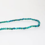 A-Grade Chrysocolla Faceted 2mm - Gaea | Crystal Jewelry & Gemstones (Manila, Philippines)