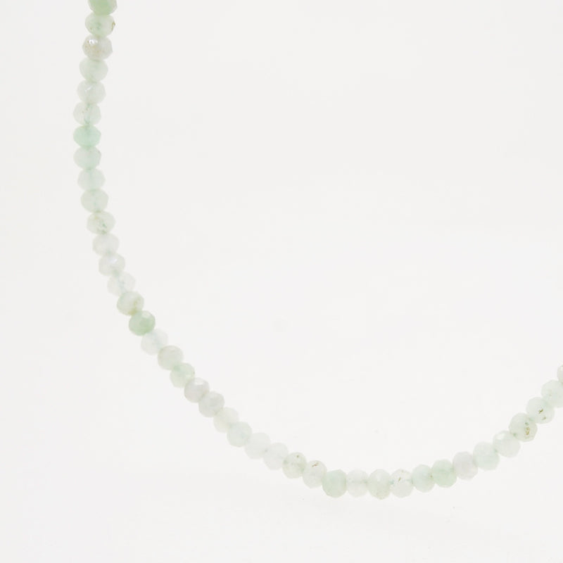 Chrysoprase Faceted Rondelle 3.5mm - Gaea | Crystal Jewelry & Gemstones (Manila, Philippines)