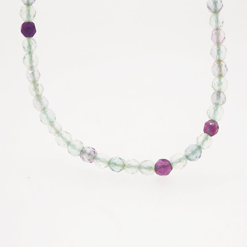 Multicolored Fluorite Faceted 4mm - Gaea | Crystal Jewelry & Gemstones (Manila, Philippines)