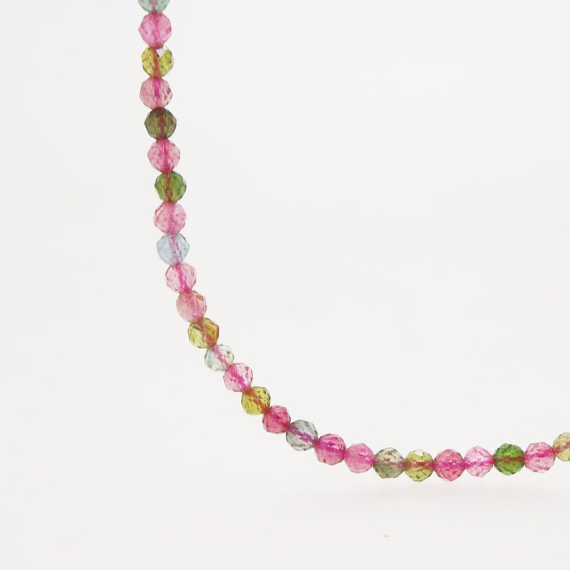 AA-Grade Multicolored Tourmaline Faceted 3mm - Gaea | Crystal Jewelry & Gemstones (Manila, Philippines)