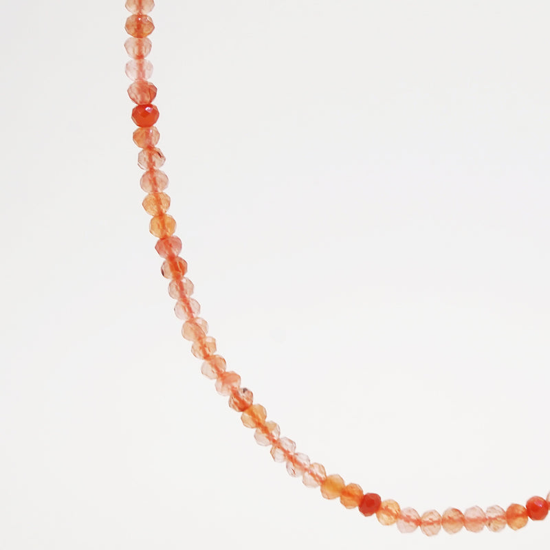 Sunstone Faceted Rondelle 3mm - Gaea | Crystal Jewelry & Gemstones (Manila, Philippines)