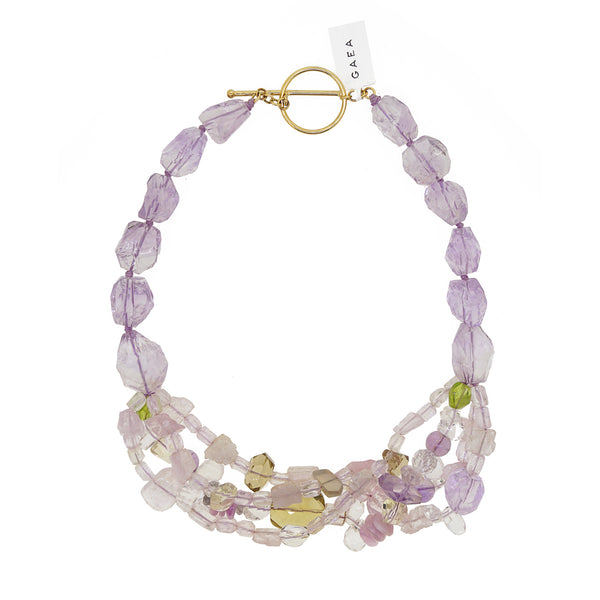 Kunzite, Peridot, and Lavender Amethyst - Gaea | Crystal Jewelry & Gemstones (Manila, Philippines)