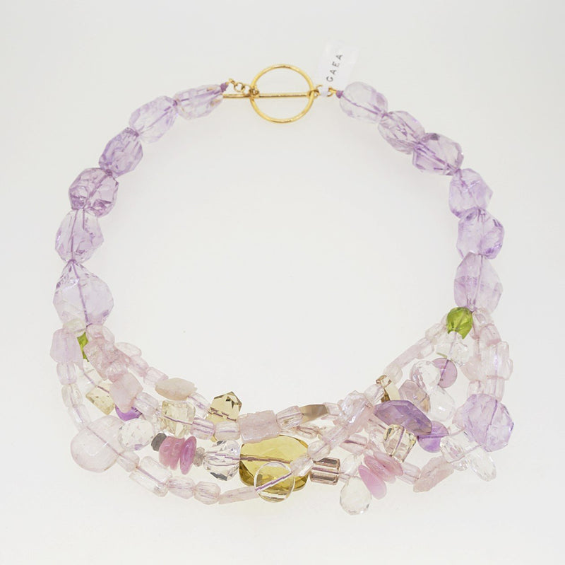 Kunzite, Peridot, and Lavender Amethyst - Gaea | Healing Crystals and Gemstone Jewelry (Manila, Philippines)