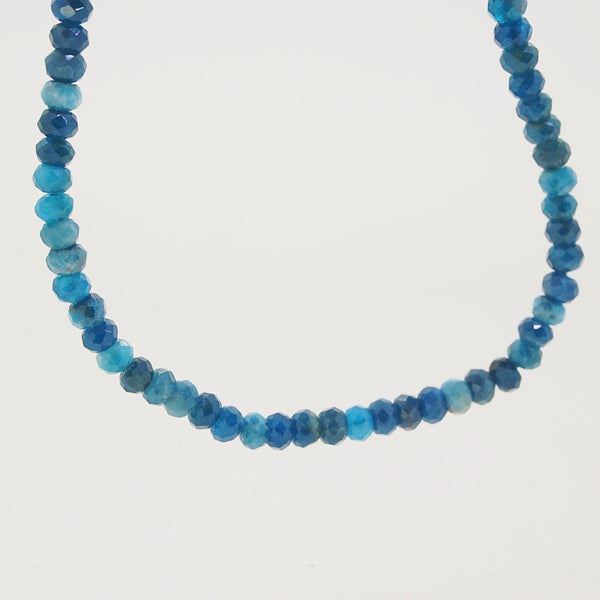 Madagascar Apatite Faceted Rondelle 4mm - Gaea | Crystal Jewelry & Gemstones (Manila, Philippines)