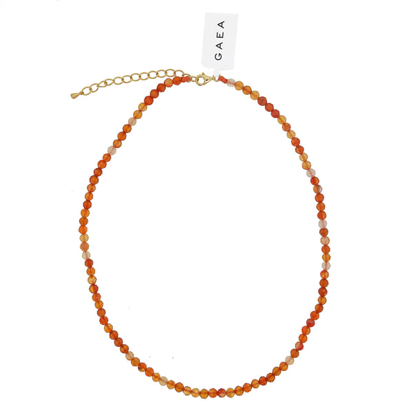 A-Grade Carnelian Faceted 4mm - Gaea | Crystal Jewelry & Gemstones (Manila, Philippines)