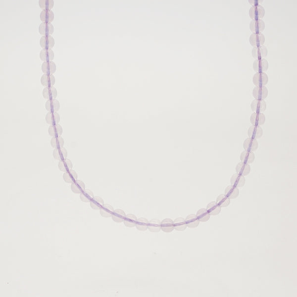 A-Grade Lilac Milky Amethyst 4mm - Gaea | Crystal Jewelry & Gemstones (Manila, Philippines)
