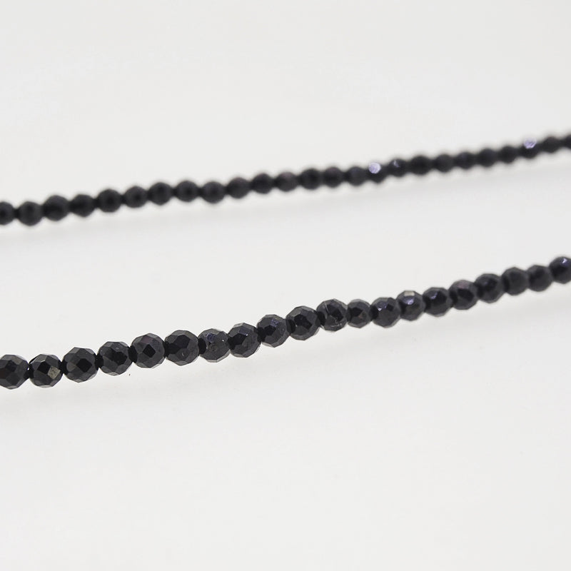 Black Spinel Faceted 4mm - Gaea | Crystal Jewelry & Gemstones (Manila, Philippines)