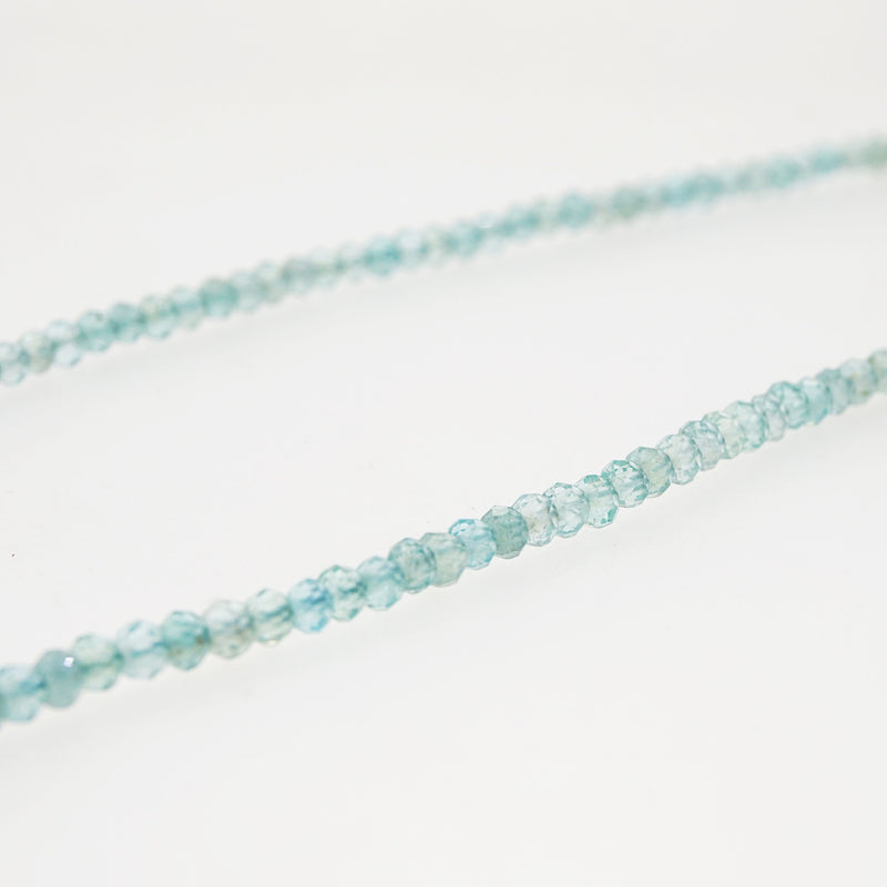 Apatite Faceted Rondelle 3.5mm - Gaea | Crystal Jewelry & Gemstones (Manila, Philippines)