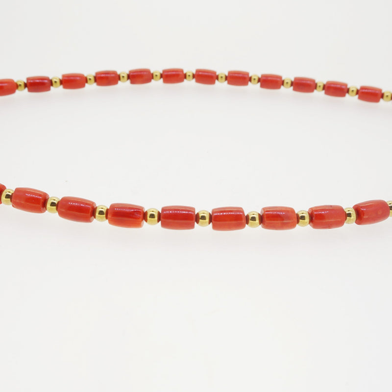 Japanese Red Coral with Hematite - Gaea | Crystal Jewelry & Gemstones (Manila, Philippines)