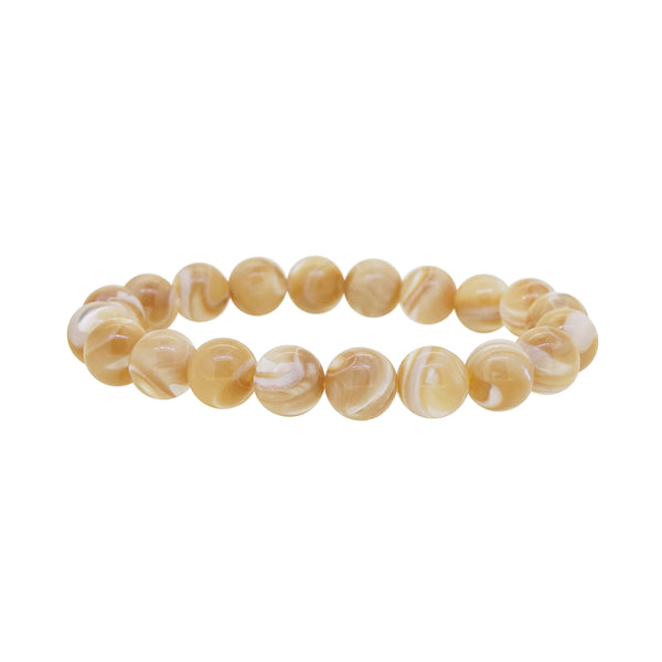 Brown Mother of Pearl 10mm