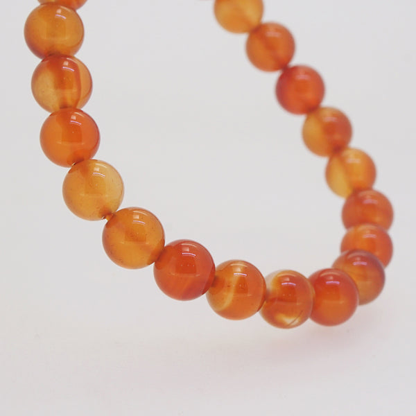 Carnelian 8mm - Gaea | Crystal Jewelry & Gemstones (Manila, Philippines)