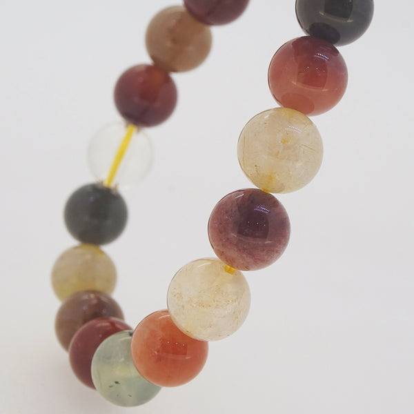 Multicolored Rutilated Quartz 10mm - Gaea | Crystal Jewelry & Gemstones (Manila, Philippines)