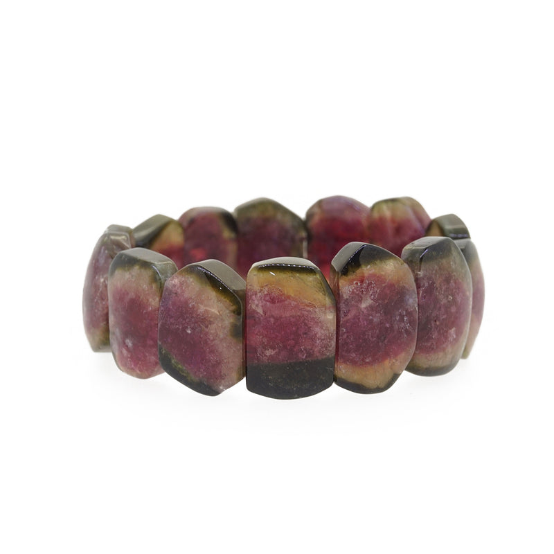 A-Grade Watermelon Tourmaline Bangle - Gaea | Healing Crystals and Gemstone Jewelry (Manila, Philippines)