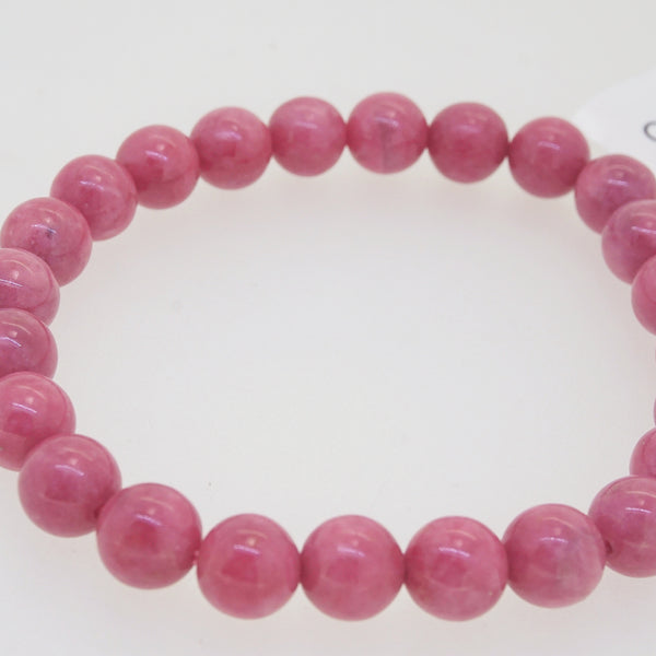 Rhodonite 8mm - Gaea | Crystal Jewelry & Gemstones (Manila, Philippines)