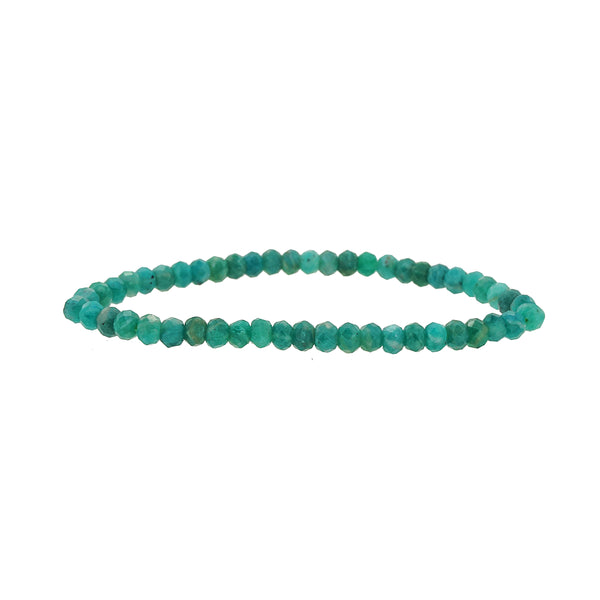Amazonite Faceted Rondelle