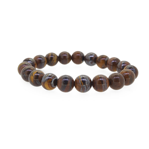 A-Grade Tiger Iron 10mm - Gaea | Healing Crystals and Gemstone Jewelry (Manila, Philippines)