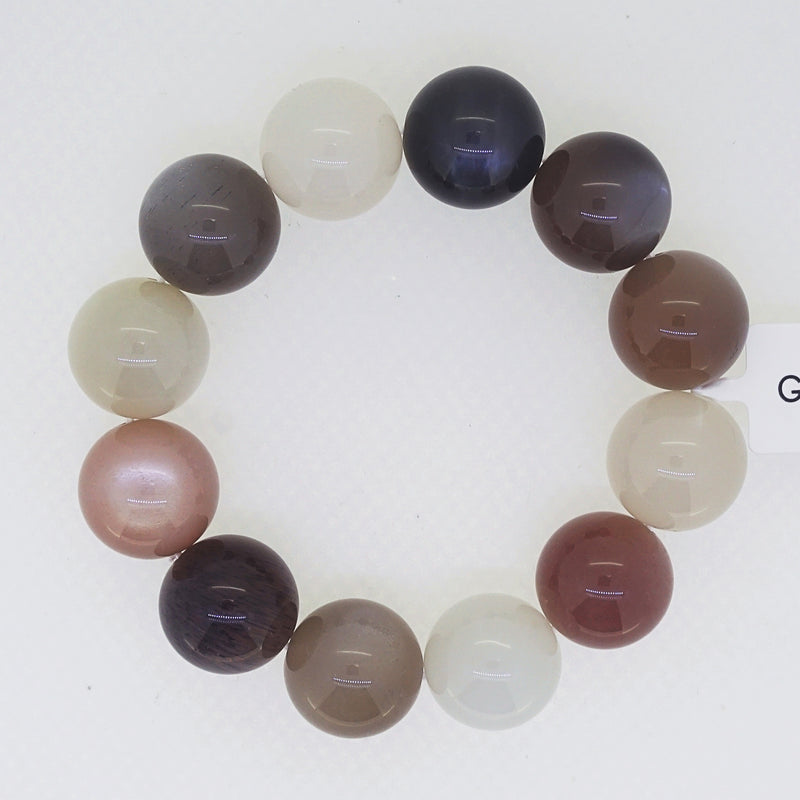A-Grade Tricolor Moonstone 16mm - Gaea | Crystal Jewelry & Gemstones (Manila, Philippines)