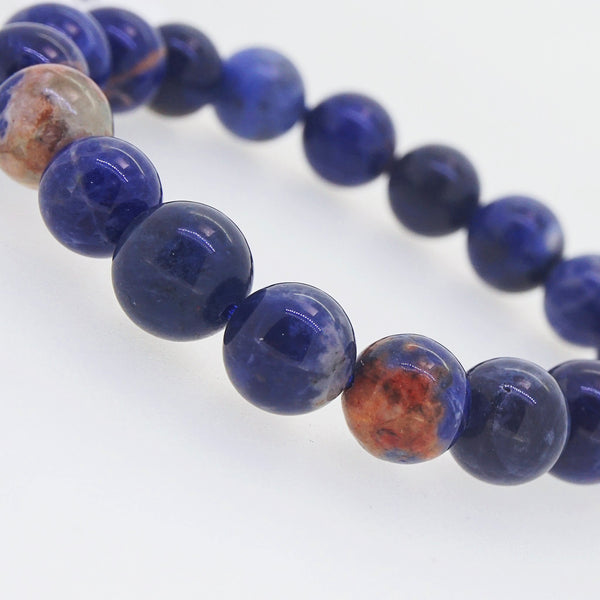 Orange Sodalite 10mm - Gaea | Crystal Jewelry & Gemstones (Manila, Philippines)
