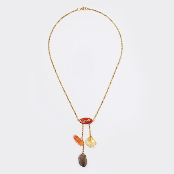 Carnelian, Citrine, and Smoky Quartz - Gaea | Crystal Jewelry & Gemstones (Manila, Philippines)