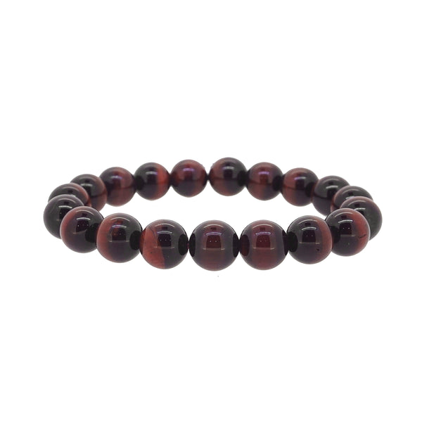 A-Grade Red Tiger Eye 10mm - Gaea | Crystal Jewelry & Gemstones (Manila, Philippines)