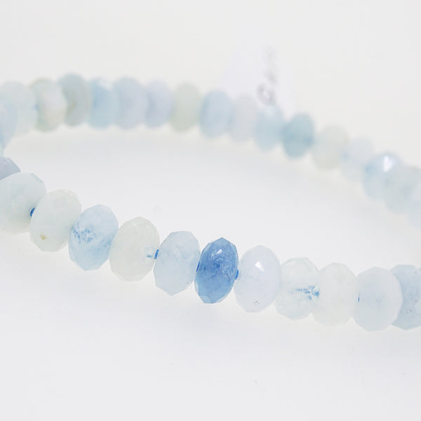 Aquamarine Faceted Rondelle - Gaea | Crystal Jewelry & Gemstones (Manila, Philippines)