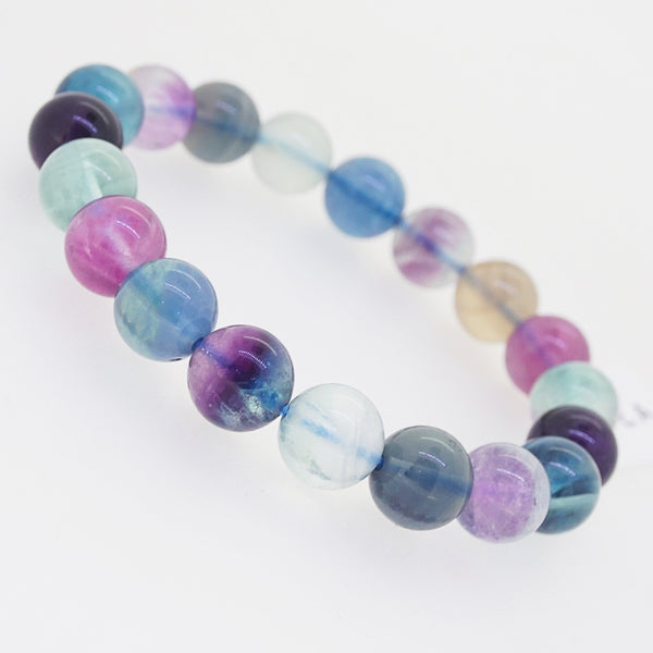 Multicolored Fluorite 10mm - Gaea | Crystal Jewelry & Gemstones (Manila, Philippines)