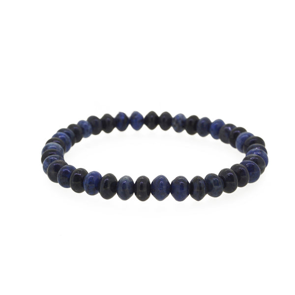 Dumortierite Rondelle - Gaea | Crystal Jewelry & Gemstones (Manila, Philippines)