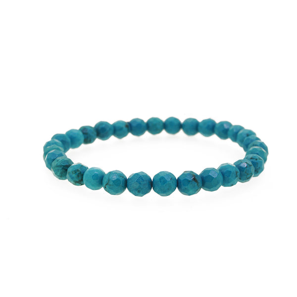 Turquoise Faceted 6mm - Gaea | Crystal Jewelry & Gemstones (Manila, Philippines)