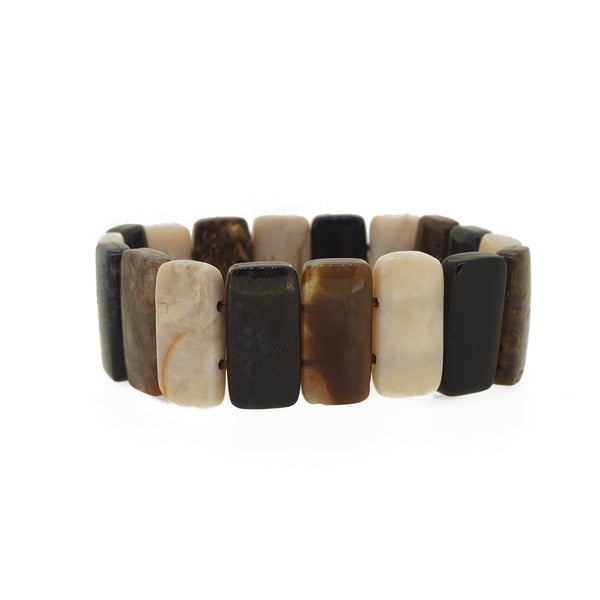 Assorted Jasper Bangle - Gaea | Crystal Jewelry & Gemstones (Manila, Philippines)