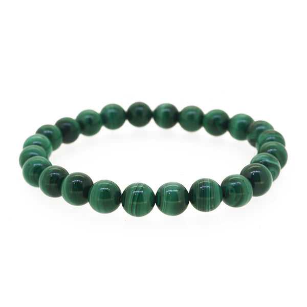 Malachite 8mm - Gaea | Crystal Jewelry & Gemstones (Manila, Philippines)