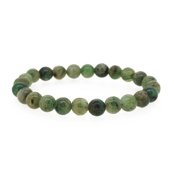 Green Kyanite 8mm - Gaea | Crystal Jewelry & Gemstones (Manila, Philippines)
