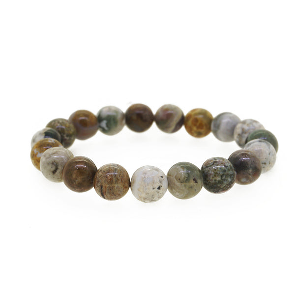 Ocean Jasper 10mm - Gaea | Crystal Jewelry & Gemstones (Manila, Philippines)