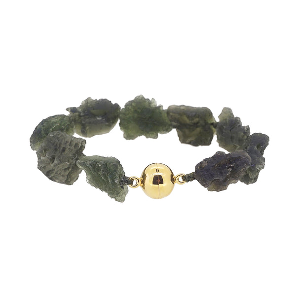 Raw Moldavite with Clasp - Gaea | Crystal Jewelry & Gemstones (Manila, Philippines)