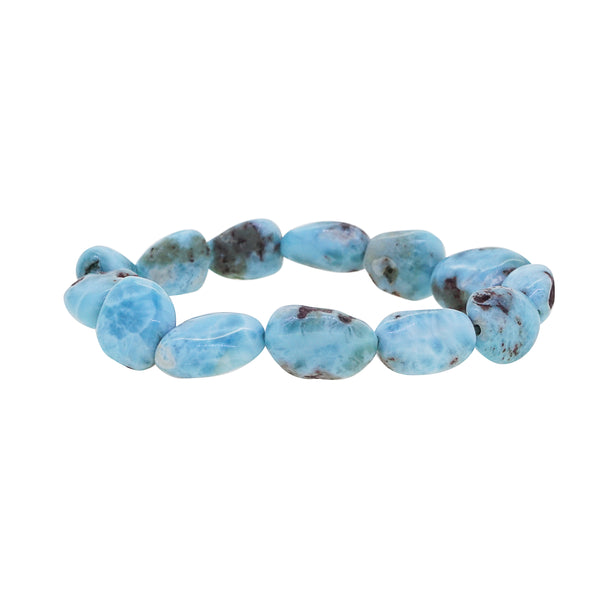 Larimar Tumble - Gaea | Crystal Jewelry & Gemstones (Manila, Philippines)